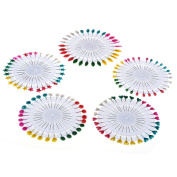 150 PCS Headed Pins Wheel Dressmaking Pins for Crafts Sewing Decorations Multi-Colour
