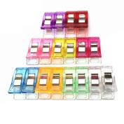 QHGstore 60pcs Candy Colour Clothes Pins Pegs Hanging Clothespin Photo Clips Random Colour