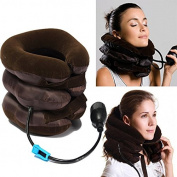 Bazaar Air Cushion Neck Cervical Traction Shoulder Support Brace Pillow