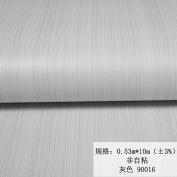 BABYQUEEN Minimalist Modern Vertical Streaks Children'S Room Bedroom Wallpaper Non-Woven Living Room Office Wallpaper Grey 0.53*10m
