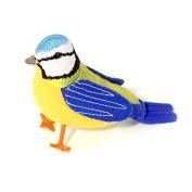 Cute, Blue Tit Birdsong Collection Pincushion | Dimensions 12x10x5cm