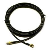 TOOGOO(R) Black Radio Antenna Extension Cable