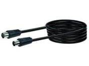 Schwaiger KVK50 533 Aerial Cable 75 dB 5 m Black