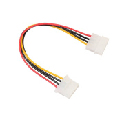Amazingdeal 1 x IDE 4-Pin Male to IDE 4-Pin Female Extension Power Cable