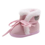 Baby Shoes,Saingace Toddler Newborn Baby Bear Print Soft Sole Boots Prewalker Warm Shoes
