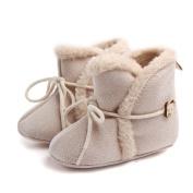 Smile YKK Infant Cute Prewalker Winter Shoes Warm House Shoes Snow Boot