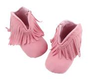 Smile YKK Baby Premium Soft Sole Tassels Prewalker Anti-Slip Shoes