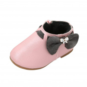 Baby shoes, MuSheng(TM) Toddler Baby Girls Cute Rabbit Ears Ball Sneaker Boots Zipper Casual Shoes (Size