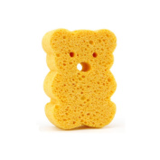 Soft Bathing Sponge Brush Baby Child Play Toy Adult Shower Massager Brush Cute Bear Shape Yellow