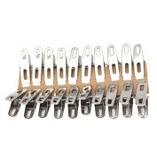Towel Clips,Clode® 20PCS Stainless Steel Beach Towel Clips Keep Your Towel From Blowing Away