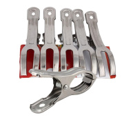 Towel Clips,Clode® 5PCS Stainless Steel Beach Towel Clips Keep Your Towel From Blowing Away