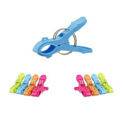 Towel Clips,Clode® Bright Colours 8 PC Beach Towel Clips Keep Your Towel from Blowing Away