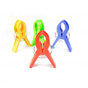 Towel Clips,Clode® Bright Colours 4 PC Beach Towel Clips Keep Your Towel from Blowing Away