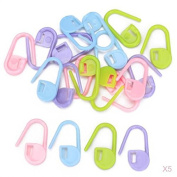 Multifunctional Knitting Crochet Stitch Markers Craft Assorted Colour