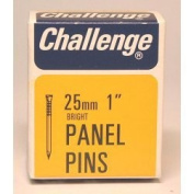Challenge Panel Pins - Bright Steel (Box Pack) 25mm