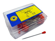 Plastic Headed Pins Red Osborne No.193 - 60mm