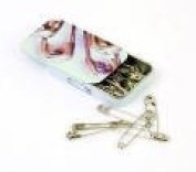 Groves PT/410S | Safety Pins | 0, 1, 2 & 3 | 60 | In A Slide Top Tin