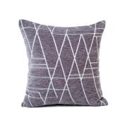 Chenille Cushion Cover, Indexp Art Line Removable Sofa Home Decor Waist Throw Pillow Case