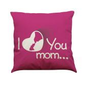 Indexp I Love You Mom Printing Festival Throw Cushion Cover Sofa Home Decoration Pillow case