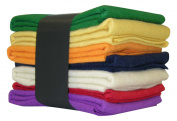 National Nonwovens WCF006-CLAS 100% Virgin Classic Homespun Collection Fat Quarters Wool Felt