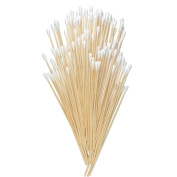 MAGIC SHOW 15cm Cotton Swabs Swab Applicator Q-tip EXTRA LONG Wood Handle Sturdy 100pcs/bag TO361