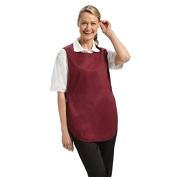 Whites Chefs Apparel B095-2 Tabard, Burgundy