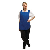 Whites Chefs Apparel B093-2 Tabard, Royal Blue