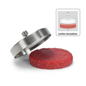 Pawaca Stainless Steel Burger Press Manual Rice Meat Press Mould Kitchen Tool