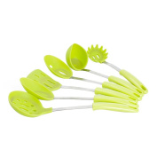 OUNONA Home Silicone Kitchen Utensil Cookware Set Nonstick Utensil Home Cooking Tool 6pcs