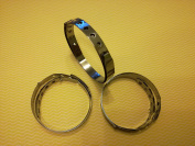6x Roulade Rings 18/10 Stainless Steel Adjustable