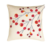 Scion Pillow Living In The Wind Rectangle Cotton Turquoise 75 x 50 cm