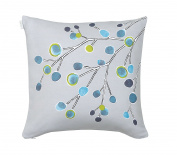 Scion Living In The Wind Cotton Square Pillowcase 65 x 65 cm turquoise