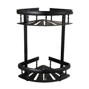Free space aluminium punch double triangle basket Black American style surface anodic oxidation