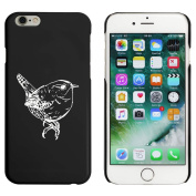 Black 'Wren Bird' Case / Cover for iPhone 6 & 6s