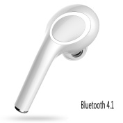 Bluetooth 4.1 Earbud, Mini Wireless Headsets In-Ear Earphone Stereo HD Earpiece 7 Hours Playtime Car Headsets with Mic Handsfree for iPhone and Android Devices