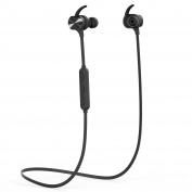 Bluetooth Earphones, MixcMax 4.1 Magnetic Bluetooth Headphones Wireless Stereo with Microphone, Noise Cancelling, Lightweight, Waterproof for Sport for iPhone, Sony, HUAWEI, for Samsung , etc-Black