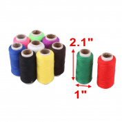 sourcingmap® Tailor Polyester Seamstress Handicraft DIY Clothes Sewing Thread Spool Reel 10 Pcs