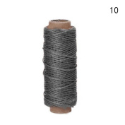Romancy 1mm Leather Waxed Thread for Sewing Tools Stitching