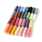 Visork Sewing Machine Embroidery Thread Colours Polyester Machine Embroidery Thread Kit 39 Colour Polyester Thread Line