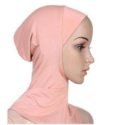 Vasyle Muslim headscarf hooded modal cotton multi-colour solid colour head head hat