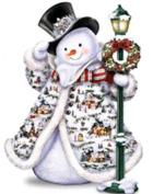 5D Diamond Painting Christmas Snowman Embroidery DIY Cross Stitch Kit Xmas Decor by ZJENE