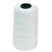 Visork Nylon Sewing Rope String Reel Spool Twisted Three Strand Sew Cord Stitching Tool 1mm Cord White