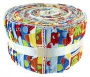 Fabric Freedom Under the Sea Freedom Roll, 100% Cotton, Multicoloured, 13 x 13 x 7 cm