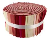 Fabric Freedom Strawberry and Cream Freedom Roll, 100% Cotton, Multicoloured, 13 x 13 x 7 cm