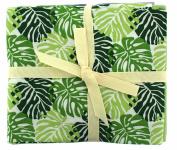 Fabric Freedom Tropical Leaves Fat Quarter Bundle, 100% Cotton, Multicoloured, 13 x 13 x 2 cm