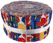 Fabric Freedom Under the Sea Royal Freedom Roll, 100% Cotton, Multicoloured, 13 x 13 x 7 cm