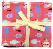 Fabric Freedom Perfumes Fat Quarter Bundle, 100% Cotton, Multicoloured, 13 x 13 x 2 cm