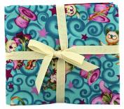Fabric Freedom Cat Trick Fat Quarter Bundle, 100% Cotton, Multicoloured, 13 x 13 x 2 cm
