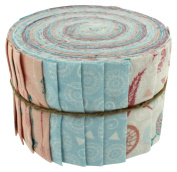 Fabric Freedom Little Dream 1 Jelly Baby Roll, 100% Cotton, Multicoloured, 9 x 9 x 7 cm