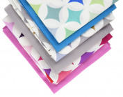 Fabric Freedom Petals Fat Quarter Bundle, 100% Cotton, Multicoloured, 13 x 13 x 2 cm